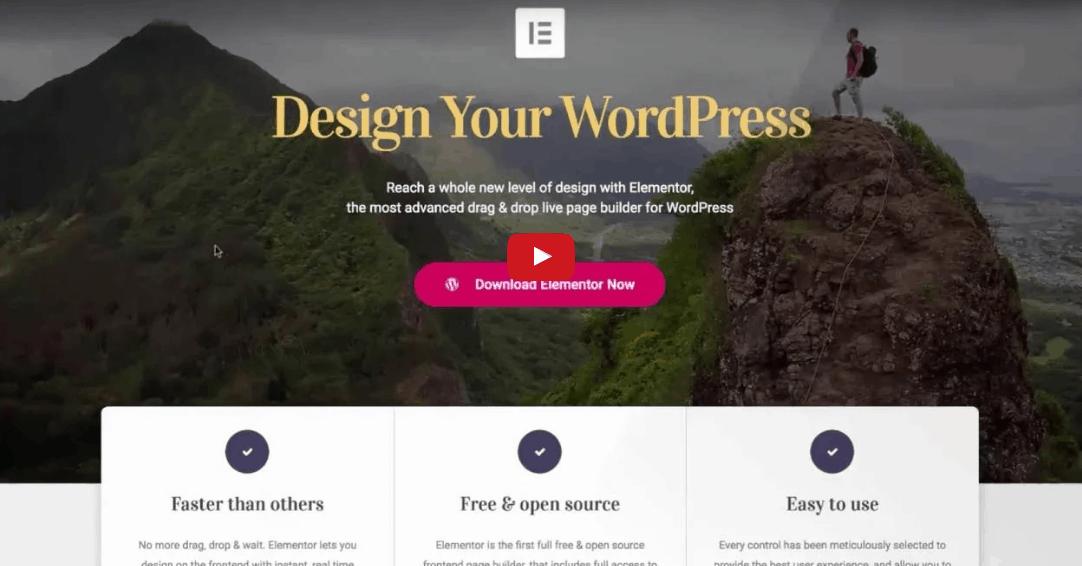 עיצוב אתר וורדפרס קל ומהיר